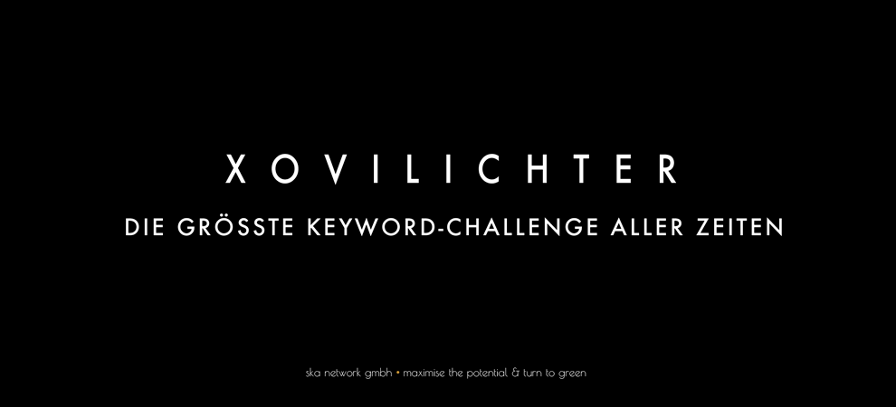 XOVILICHTER SEO Keyword-Challange 2014 by XOVI