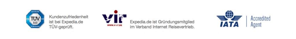 Gütesiegel für für bessere Conversions in Reiseportalen | hier Expedia.de