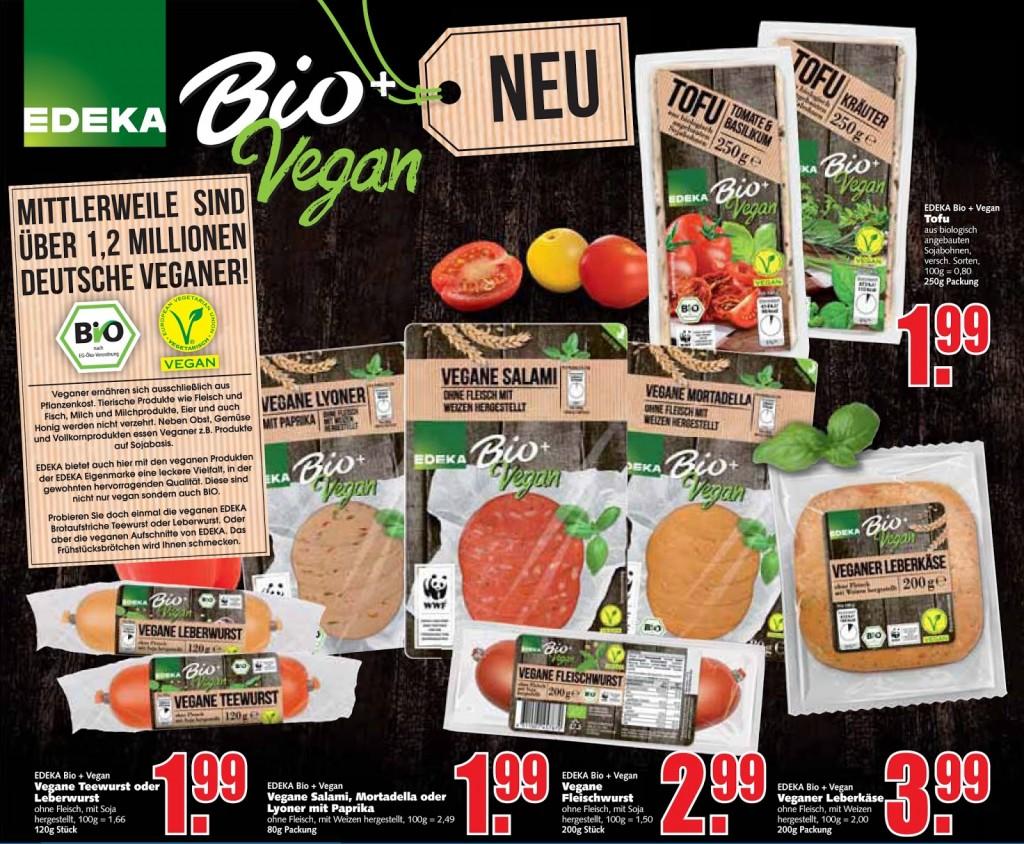 Edeka Bio + Vegan