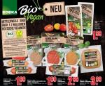 Edeka Bio + Vegan grüne Marke vegane Fleischersatzprodukte