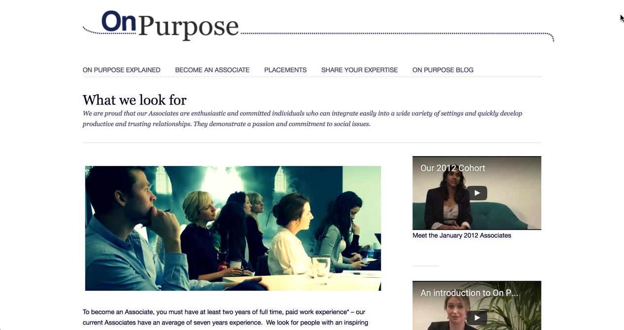 Das On Purpose Social Entrepreneurshi Ausbildungsprogramm jetzt auch in Berlin.