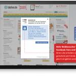 bücher.de Gutschein für Empfehlungen über Likomi