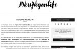 Blogger Relations Kooperationen A Very Vegan Life