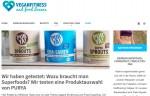 Fitness Blog als Blogger Relations Instrument: Vegan Fitness testet PurYa!